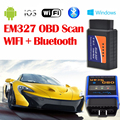 ELM 327  Bluetooth WIFI Vehicle Diagnostic Tool OBD2 OBD-IIAuto Diagnostic Tool Car Interface Scanner Works On Android IOS
