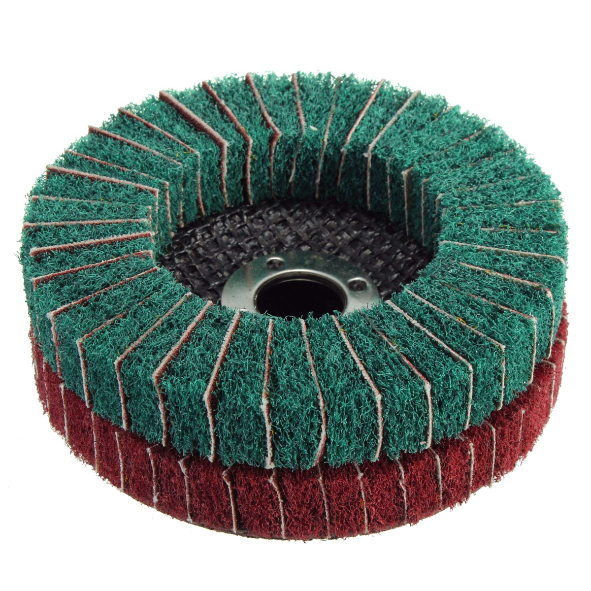1Pcs Nylon 10cm Fiber Buffing Wheel Abrasive Polishing Buffing Disc 280/320 Grit Nylon Fiber Polishing Wheel