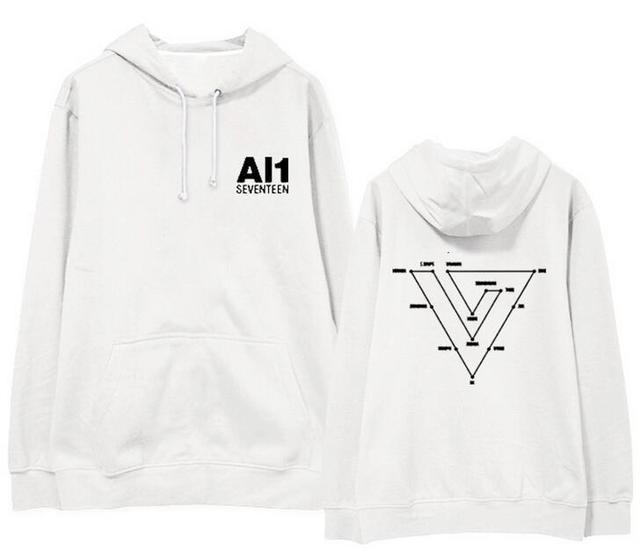 SEVENTEEN Al1 Album Pullover Hoodie - Kpop Merchandise