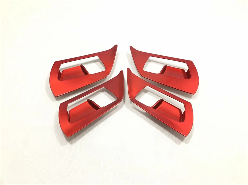 For Toyota RAV4 <font><b>RAV</b></font> <font><b>4</b></font> 2016 2017 <font><b>2018</b></font> ABS Interior Inner Car Door Handle Bowl Cover Frame Trim Stickers Car-Styling Accessories image