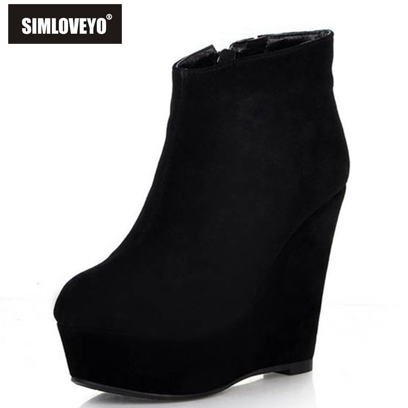 Online Get Cheap Cute Black Boots -Aliexpress.com | Alibaba Group