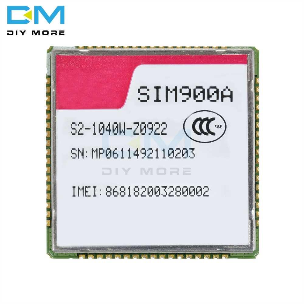 SIM900A Dual-banda 900/1800 MHz GSM SMS GPRS transmisión inalámbrica módulo de apoyo PBCCH para Raspberry Pi