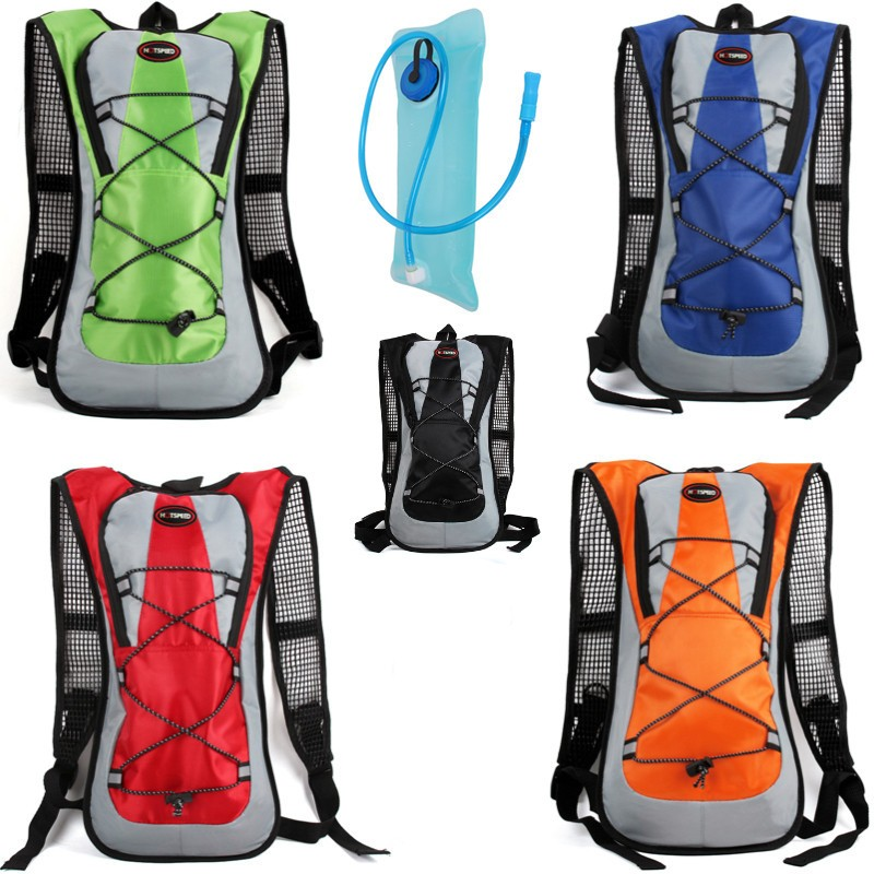 2L Outdoor Sports Cycling Water Bag Motorcycle Bicycle Mountaineering Water bag Backpack for Hot Water Box