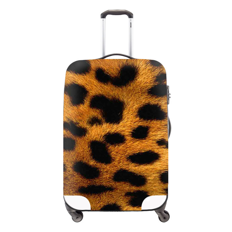 New Waterproof Luggage Protection Cover For 18-30 inch Suitcase,Fashion Elastic Luggage Cover,Travel Suitcase Accessories