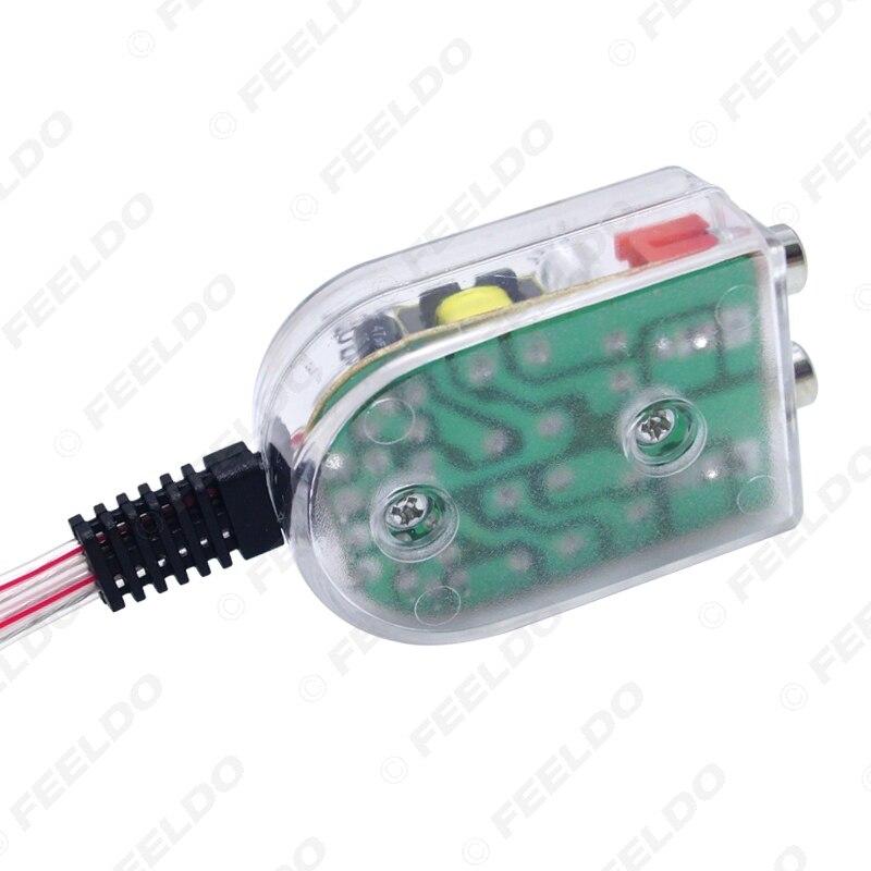 FEELDO Auto Line Out Converter Audio Sound Subwoofer Amplifier ...