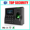 Free Shipping High Speed ZK TCP IP Biometric Fingerprint Time Attendance Recorder System Live ID Fingerprint
