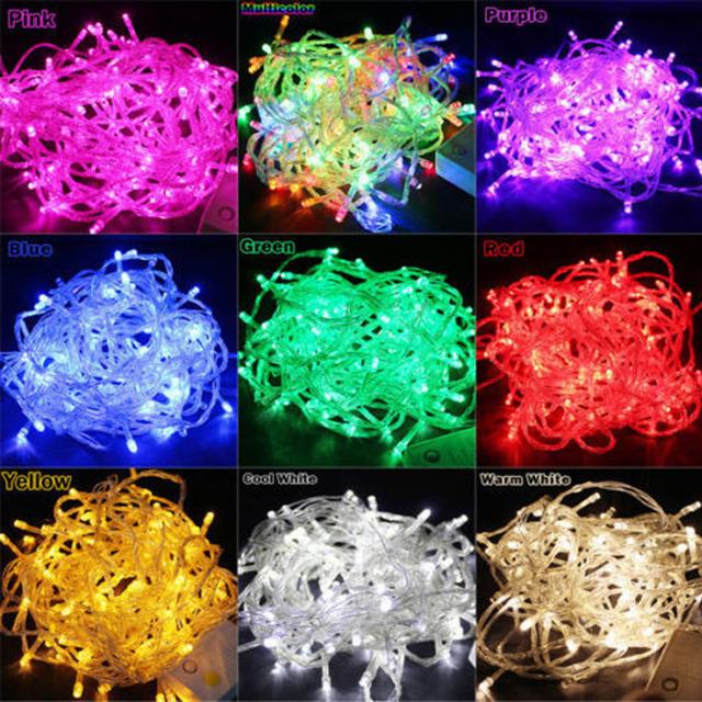 10M 100 LED Flexible String Light