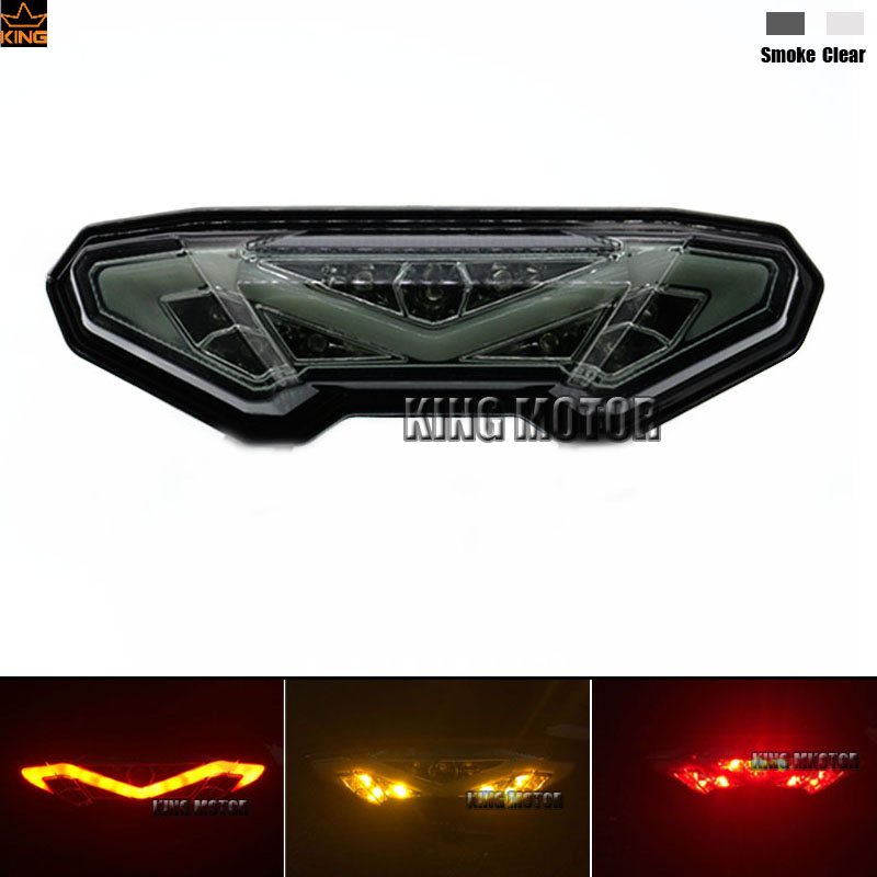 For YAMAHA MT-09 FZ-09 MT-09 Tracer/ Tracer 900 Tracer 700 MT-10/FZ-10 Motorcycle Integrated LED Tail Light Turn signal Smoke for yamaha mt 01 mt 03 05 09 mt 10 fz 10 16 17 motorcycle navigation frame mobile phone mount bracket with usb charger