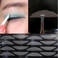 120pcs 5 Packs Gauze Mesh Lace Stick Stealth Double Fold Eyelid Sticker Without Glue Free Shipping