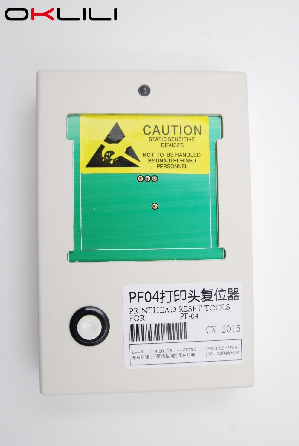 PF 04 Reset PrintHead Print Head Printer Head Chip Resetter Decoder for Canon iPF650 iPF655 iPF750 iPF760 iPF765 iPF680 iPF780