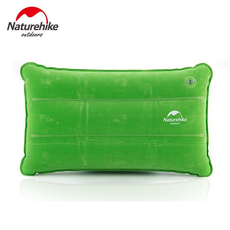 nh ultralight foldable travel camping pillow flockingpvc air mattress inflatable mattress to sleep camping equipment naturehike