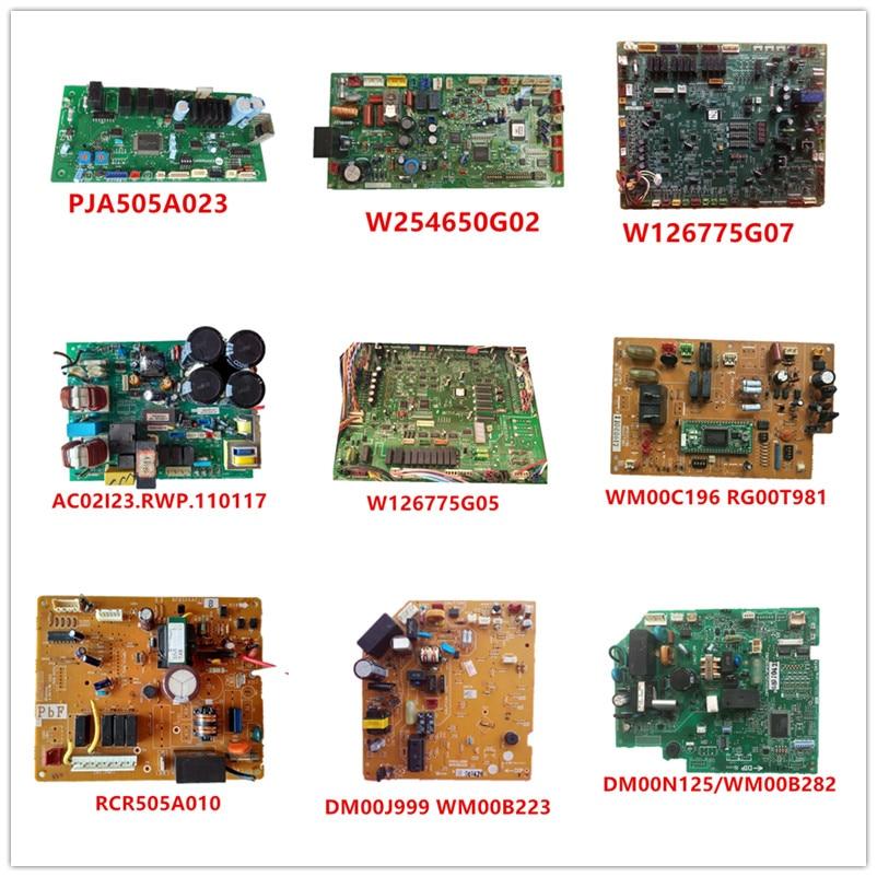 PJA505A023/FP98S-PC W254650G02/W126775G07/AC02I23.RWP.110117/W126775G05/WM00C196 RG00T981/RCR505A010/DM00J999 WM00B223/DM00N125