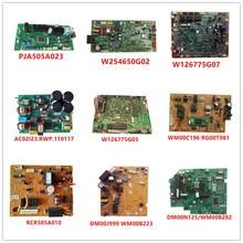 PJA505A023/FP98S-PC W126775G05/WM00C196 RCR505A010/DM00J999 WM00B223/DM00N125