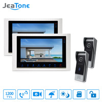 JeTone 7 TFT Door Phone Monitor Home Security Intercom For House High Resolution IR Night Vision