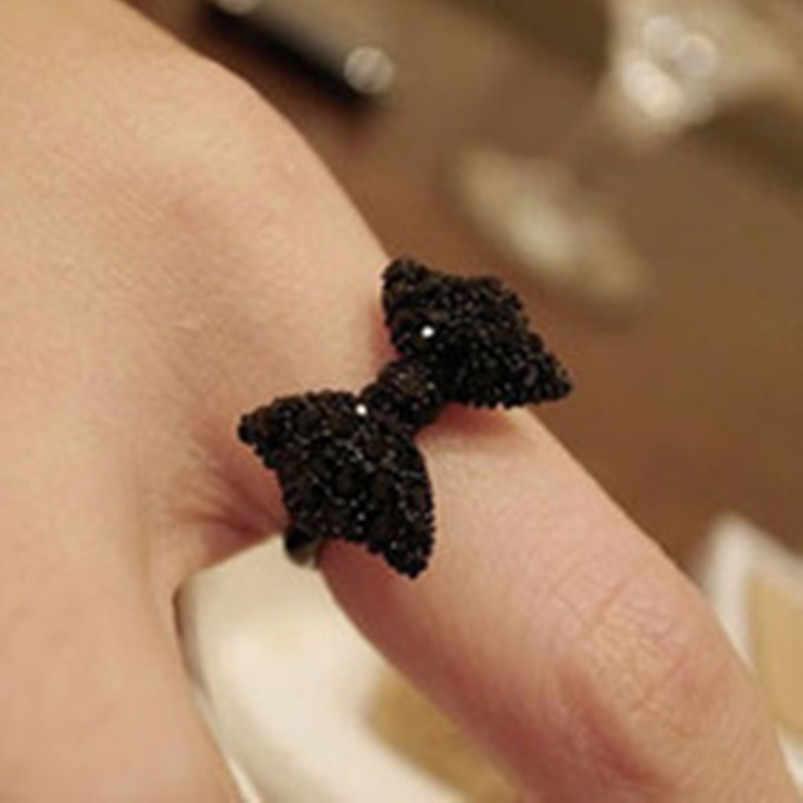 الرجعية الأزياء لطيف أسود القوس القوس الاكسسوارات عصابة المجوهرات بالجملة بيع الإناث 2016