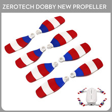New 100% Original Zerotech Dobby Drone Prppeller Captain America for ZEROTECH Dobby Pocket Drone 4pairs