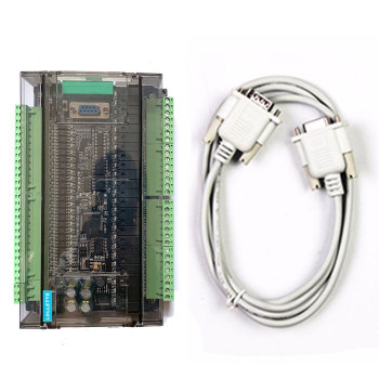 LE3U FX3U 48MR RS485 RTC (real time clock) 24 Input Relay output 6 analog input 2 plc controller - discount item  5% OFF Electrical Equipment & Supplies