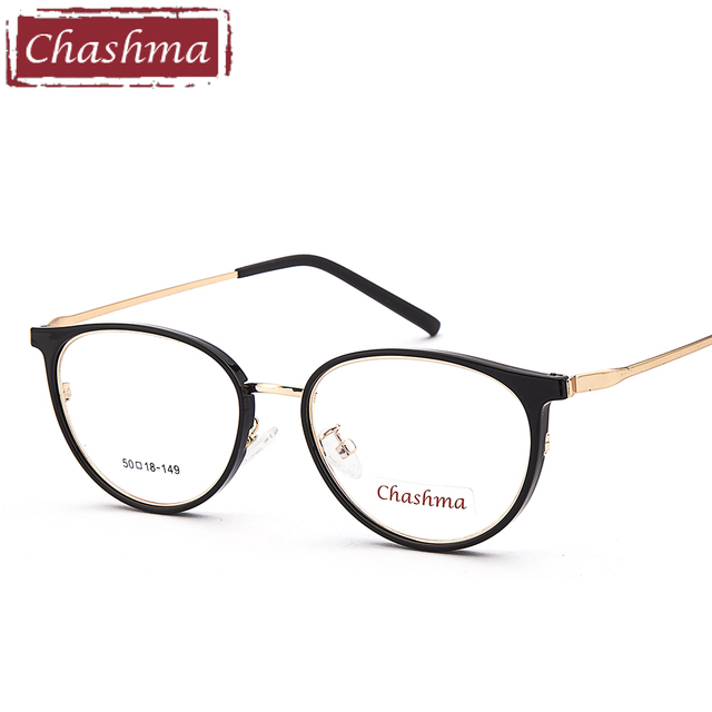 Chashma Brand Trend Teens Eyeglasses Women Fashion Small Glasses ...