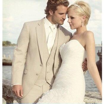 Custom Men's Classic Suit Groom Wedding Dress Bow Tie Wedding Champagne Dinner Best Men's Suit (Jacket + Pants + Tie + Vest)