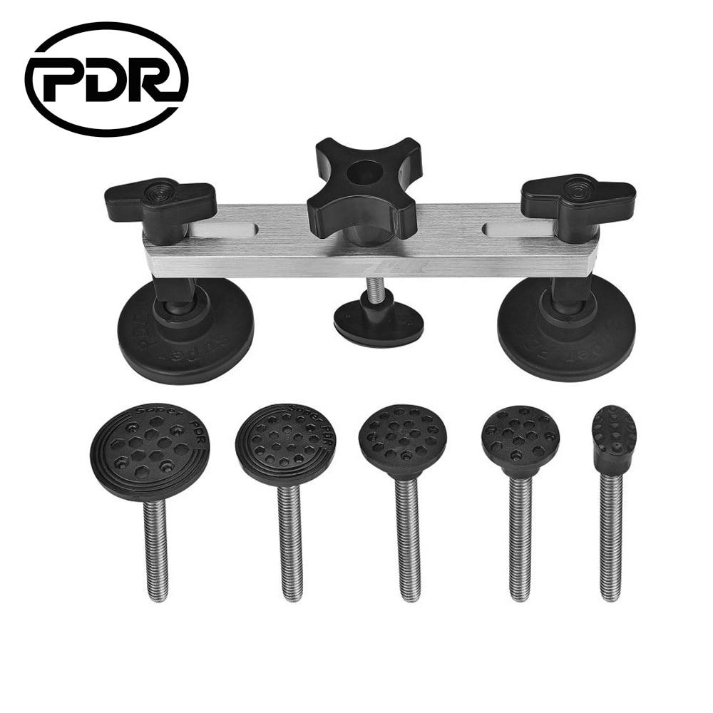 PDR-i tööriistad Dent eemaldamine Värvitu hammaste remonditööriist Dent Pulling Bridge - rattakahjustuste parandamise tööriist - PDR-komplekt Herramentas