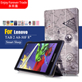 """Высокое качество Case для lenovo Tab2 A8 50 Искусственная Кожа Красочные Cover Case Для Lenovo Tab 2 A8-50 A8-50F A8-50LC 8 """"Tablet PC Case"""