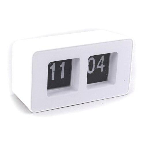 Pendulette Flip FlapWhite desktop Clock)