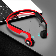 ALWUP Wireless Headphone Bluetooth earphone Bone Conduction Sports Stereo Headset for Phone with Microphone 8GB MP3 Player(China)