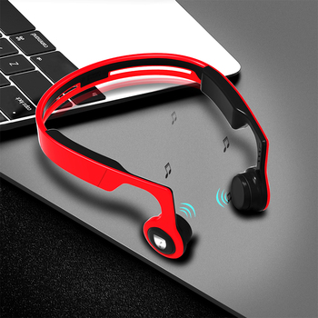 ALWUP Wireless Headphone Bluetooth earphone Bone Conduction Sports Stereo Headset for Phone with Microphone 8GB MP3 Player