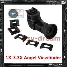 كاشف رؤية بزاوية 1x 3.3x لكاميرا نيكون D800 D810 D800E D700 D4 D4S D3 5D2 5D3 70D 60D 700D 650D PB409