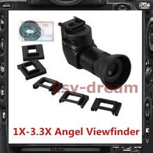 Seagull 1x 3.3x Angle View Finder Viewfinder for Nikon D800 D810 D800E D700 D4 D4S D3 5D2 5D3 70D 60D 700D 650D Camera PB409