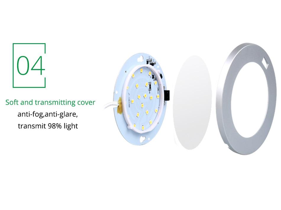 LED Under Cabinet Lights Motion Sensor Round Kitchen Cupboard Lighting Exhibition Bookshelf Furniture Night Light Counter Lamps9