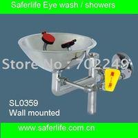 Açık acil Paslanmaz Çelik Acil Göz Duş Göz Yıkama emniyet duşu Yüz duş