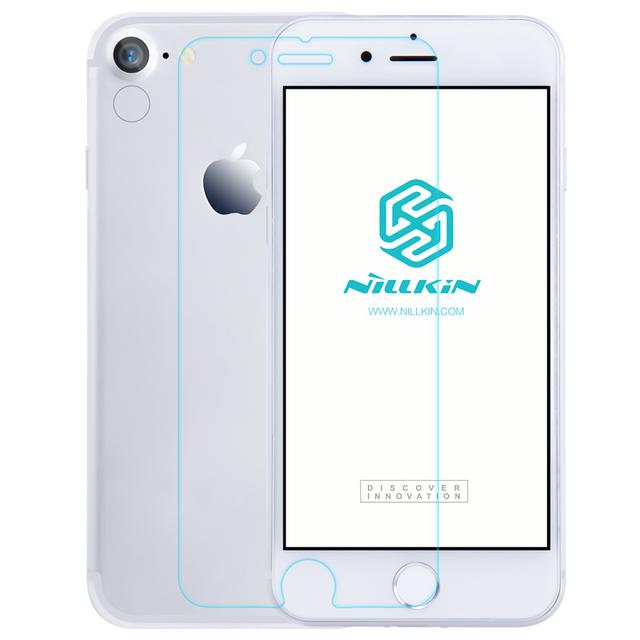 Para apple iphone 7 vidrio templado original nillkin pe + azul claro película protectora protector de pantalla resistente para iphone 7