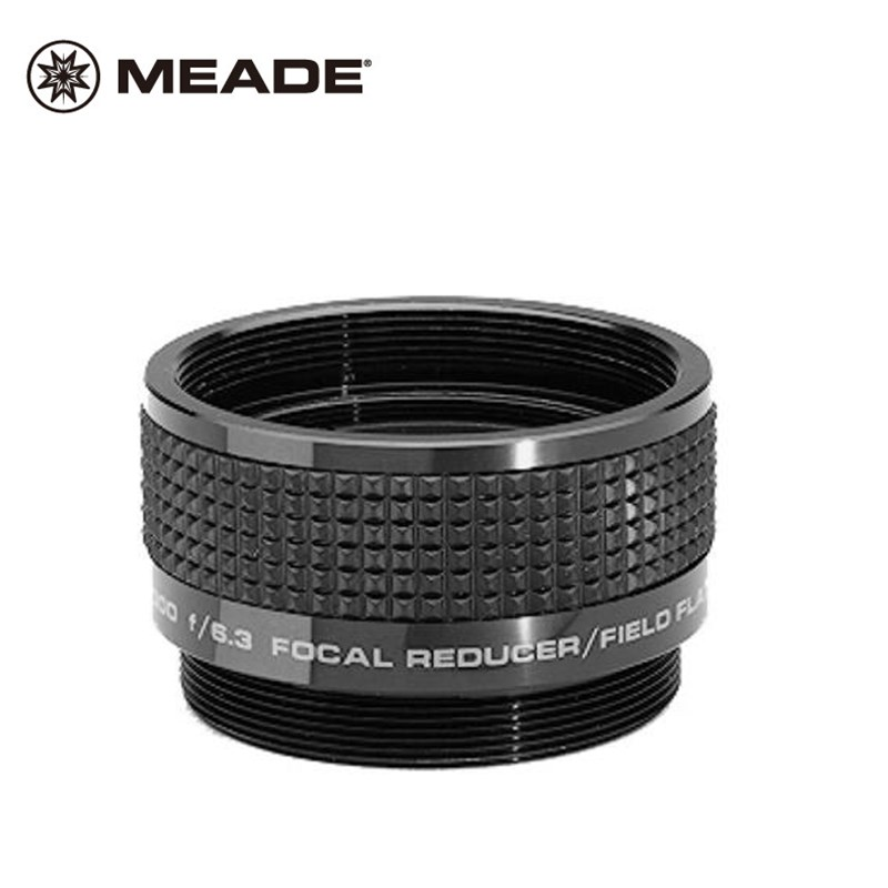 Meade F/6.3 Reducer Corrector for C Series Astromania Telescopes Focal Reducer and Field Flattener Minus Focal Lens Correction meade plossl series 5000 14мм 1 25