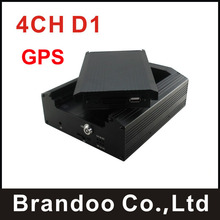 4CH Channel Car Mobile DVR with GPS function