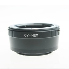 CY-NEX Lens Mount Adapter Contax Yashica Lens for Sony E Mount Adapter for NEX-5 NEX-7 NEX-3 LM-NEX NEX-VG10 LM-NEX