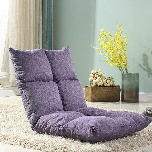 Cadeira do saco de feijão sofá fold Único Tecido dobrável tatami totoro cama beanbag cadeira sala de estar janela bay back-resto cadeira sofá Preguiçoso