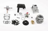 4 bolt 32cc upgrade 36cc cylinder kit with walbro 1107 carburetor for 1/5 rc car engine parts