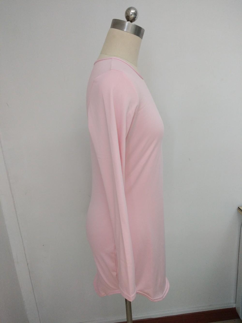 HTB1u8f.MVXXXXbXXXXXq6xXFXXXY - Long Sleeve Mini Bodycon Split Tshirt Bandage Dresses JKP208