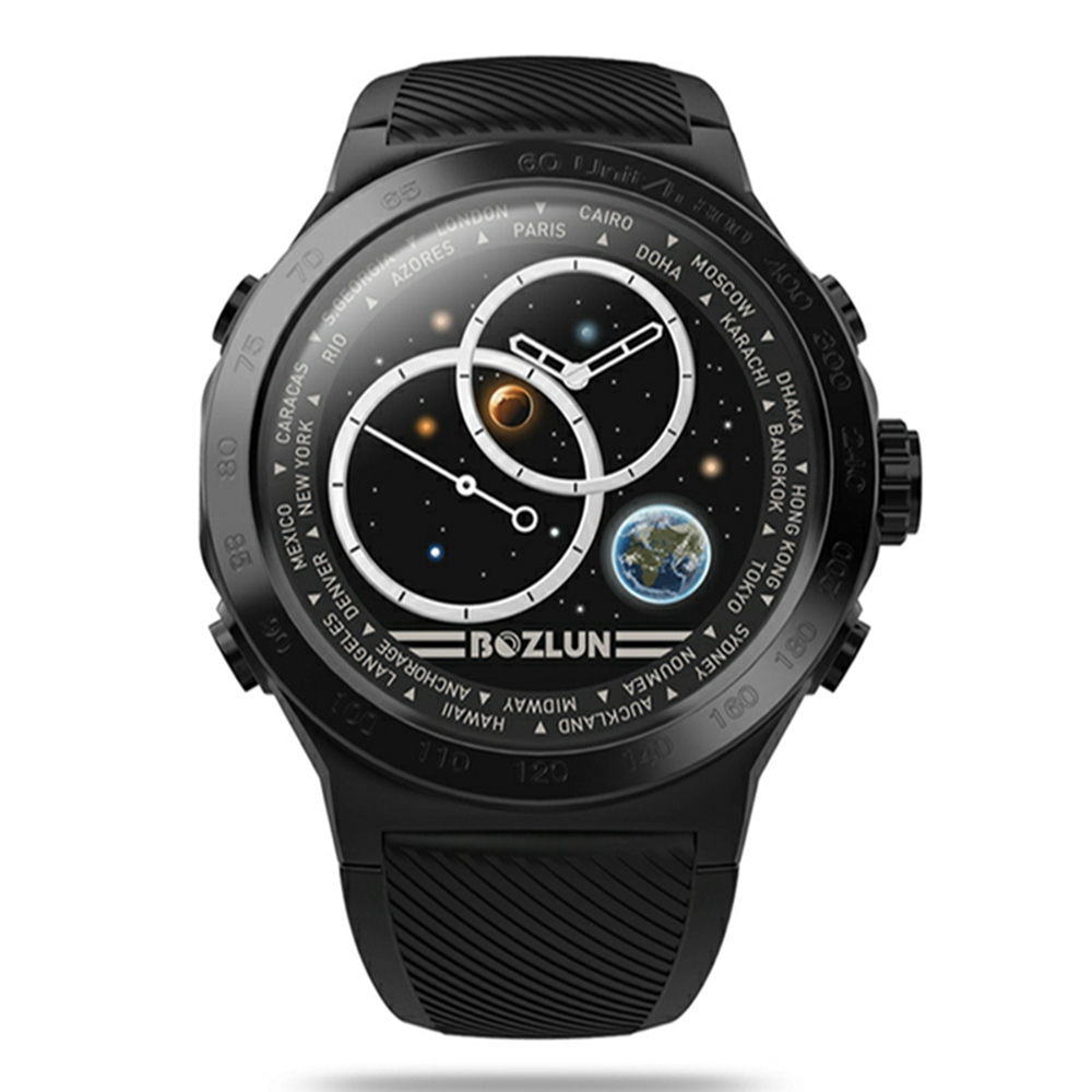 W31 IPS Stainless Steel Bezel GPS Heart Rate Sleep Monitor Sports Mode Super Large Battery Fitness