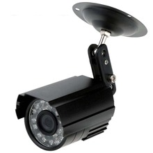 MOOL HD 800TVL 24 IR LED CCTV Camera Home Surveillance Camera Day/ Night Waterproof Camera