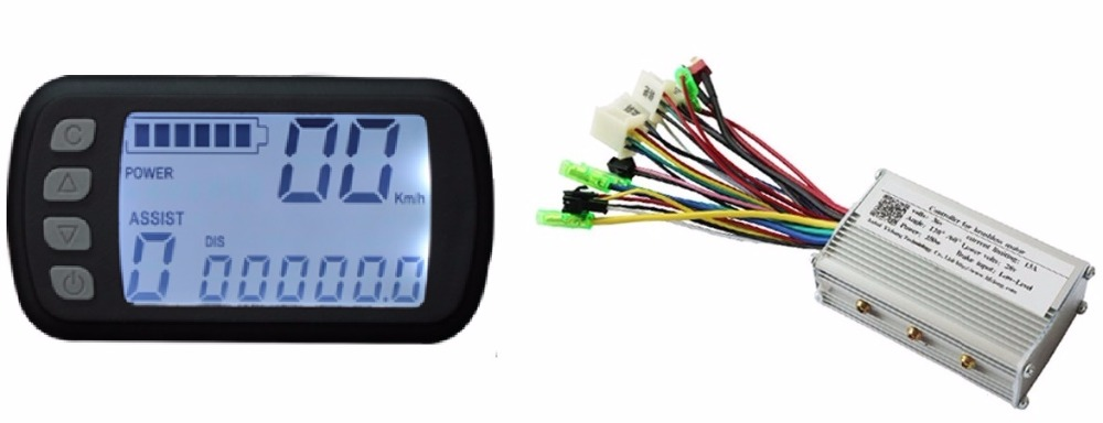 Free Shipping 250W 36V DC brushless motor control panel Liquid crystal display LCD controller E-bike electric bicycle speed amandeep gill manbir kaur and nirbhowjap singh speed control of brushless dc motor by neural network pid controller