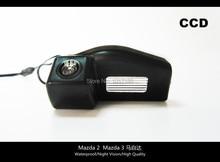 HD!! Car Rear View Parking CCD Camera For Mazda 2  Mazda 3