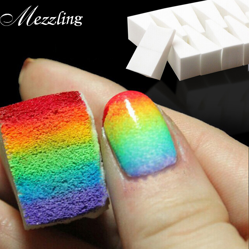 Nail Art Toolsgradient Nails Soft Sponges For Color Fade