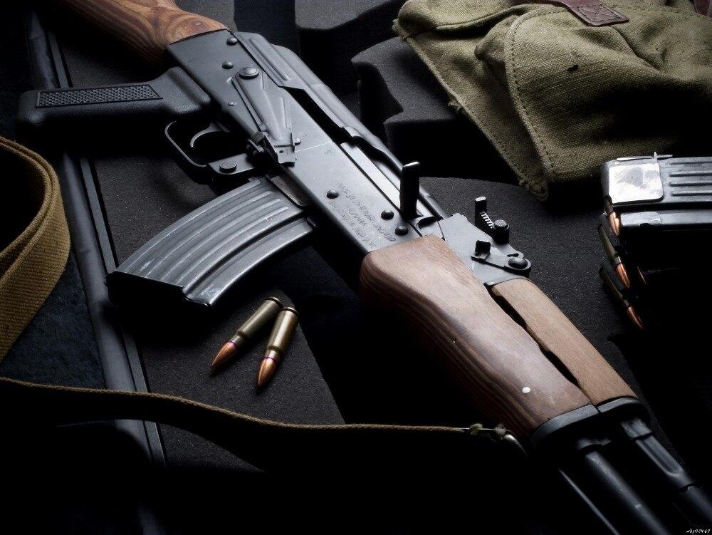 Best AK 47 Bullets Military Weapon Art Huge Print Poster