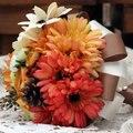 Искусственный шелк цветок букет Свадебные Букеты Невесты Цветок свадебный букет невесты Свадебный букет FW166