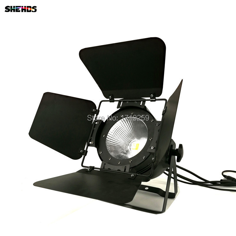 Image 5 - LED Par Light COB 100W with Barn Doors High Power Aluminium cool white and warm white Wash Strobe Effect Stage Lighting-in Stage Lighting Effect from Lights & Lighting
