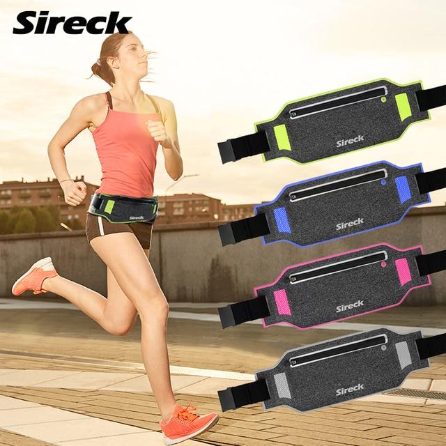 Sireck Gym Bags Men Women Running Bag Ultralight Waterproof Multifunction Sport Cycling Travel Fitness Phone Belt Waist Bag