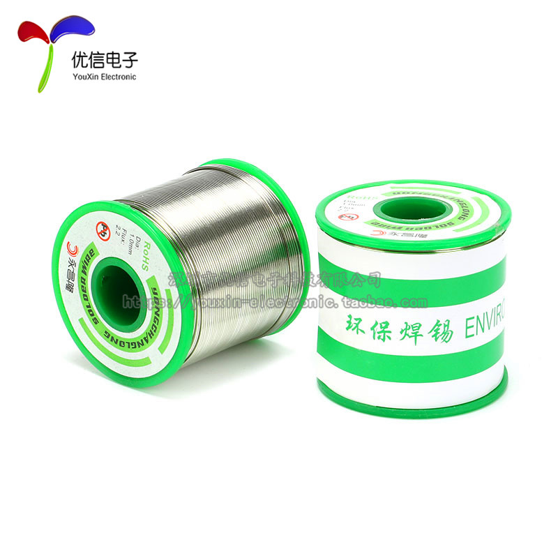 Environmental Protection Lead-free 800 G / Roll Soldering Wire Tin Wire Diameter 0.8MM Purity 99.3/Cu0.7 qitian b5510200g lead tin soldering wire wick roll silver