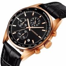 Top Brand Luxury Men's Watch 30m Waterproof Date Clock Male Sports Watch Men Quartz Casual Wrist Watches Gold relogio masculino